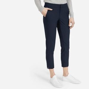 Everlane The Slim Trouser Pants In Navy